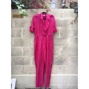 AMAZING Magenta / Hot Pink Vintage Jumpsuit!!!